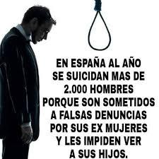 suicidios hombres divorcio