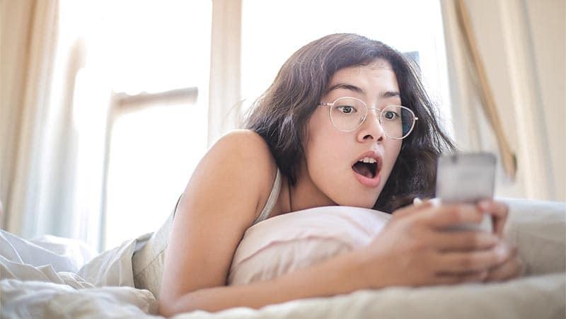 Ex pareja publica fotos en redes sociales